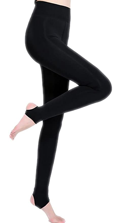 70ab0ff48a349 TUAOAO Women s Autumn and Winter Thickening Layered Leggings Nylon  Anti-pilling Super Soft Pants