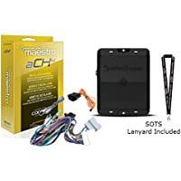 Rockford Fosgate DSR1 8-Channel Interactive Signal Processor w/Integrated iDatalink Maestro Module & ADS HRN-AR-CH4 T-harness for select Chrysler vehicles w/select audio systems and SOTS Lanyard