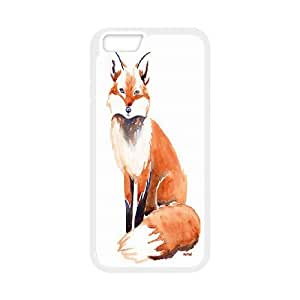 Wholesale Cheap Phone Case For Apple Iphone 6 Plus 5.5 inch screen Cases -Red Foxy Foxs-LingYan Store Case 6