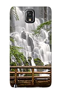 Awesome Design Waterfall Hard Case Cover For Galaxy Note 3(gift For Lovers)