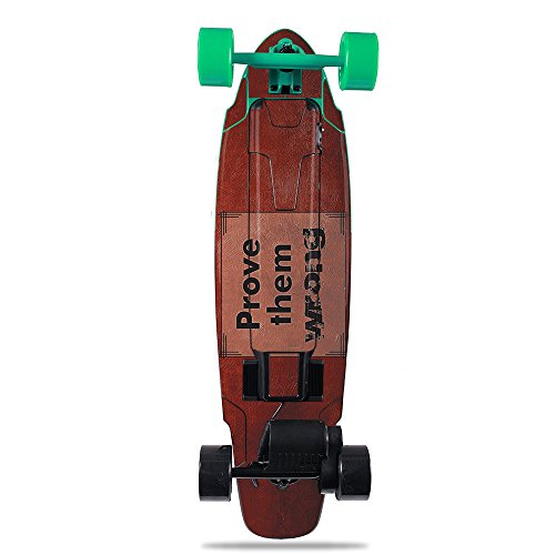 MightySkins Skin for Yuneec E-GO2 Electric Skateboard - Prove Them Wrong   Protective, Durable, and Unique Vinyl Decal wrap Cover   Easy to Apply, Remove, and Change Styles   Made in The USA