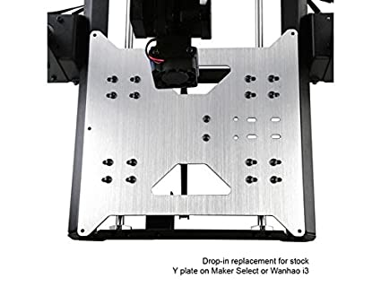 Upgrade Y Carriage Plate para Wanhao Duplicator i3 / Monoprice ...