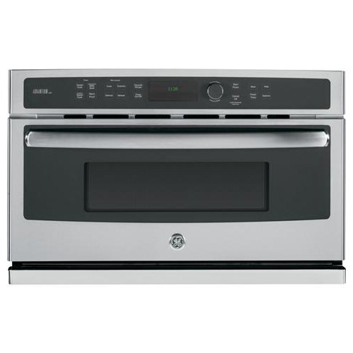 """417jWire dL - GE PSB9240SFSS Profile Advantium 30"""" Stainless Steel Electric Single Wall Oven - Convection - Speed Oven"""