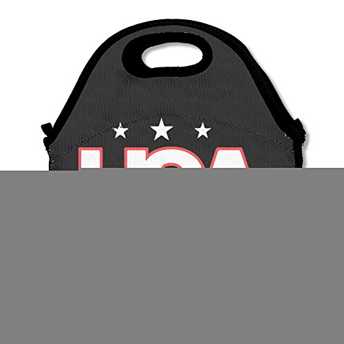 Usa Water Polo Lunch Box Bag For Kids And Adult,lunch Tote Lunch Holder With Adjustable Strap For Men Women Boys Girls,This Design For Portable, Oblique Cross,double Shoulder