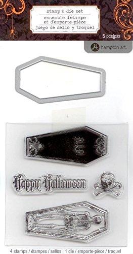 Hampton Art Stamp & Die ~ Coffin!!!