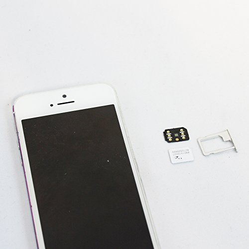 WADJET 5pack RSIM 12 Newest 2018 R-SIM Nano Unlock Card, R-SIM 12 Smart 4G Card Unlock Card Adapter Converter Kits with Tools For IPhoneX 8P 8 7P 7 6SP 6P 6S 6 5C 5S 5 by WADJET (Image #3)