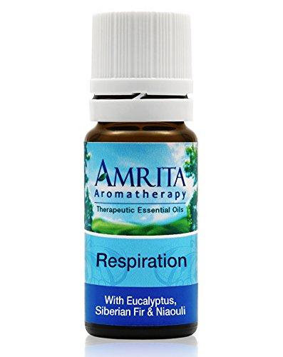 Amrita Aromatherapy: Respiration Essential Oil Synergy Blend