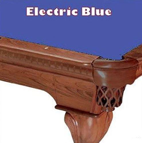 8' Electric Blue ProLine Classic 303 Billiard Pool Table Cloth (21 Oz Electric Blue Felt)