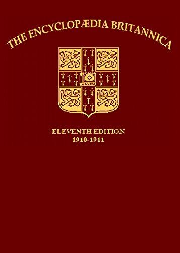 1911 Encyclopedia Britannica - Volume I (A-M)