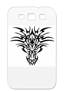 Tribal 1 Black For Sumsang Galaxy S3 Miscellaneous Symbols Shapes Case Cover