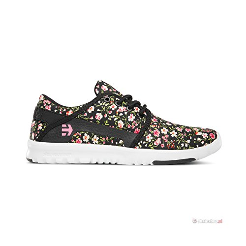 Etnies-Scout W's, Color: Black/White/Pink, Size: 35.5 EU (5 US / 3 UK)