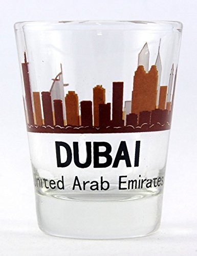 Dubai United Arab Emirates (UAE) Sunset Skyline ()