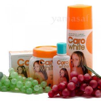 Forfait beauté Caro White-I (crème, Lotion, huile et savon)