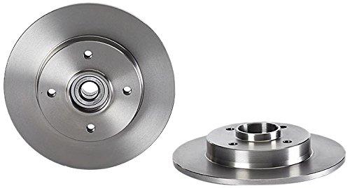 Brembo 08.9512.17 Hintere Bremsscheibe mit integriertem Lager und ABS