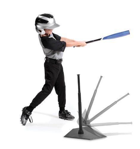 SKLZ Adjustable Height Batting Trainer Pop-Back Tee Kids Hitting Practice T-Ball