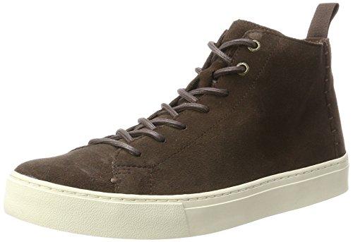 TOMS Men's Lenox Mid Chocolate Brown Suede Oxford (10)
