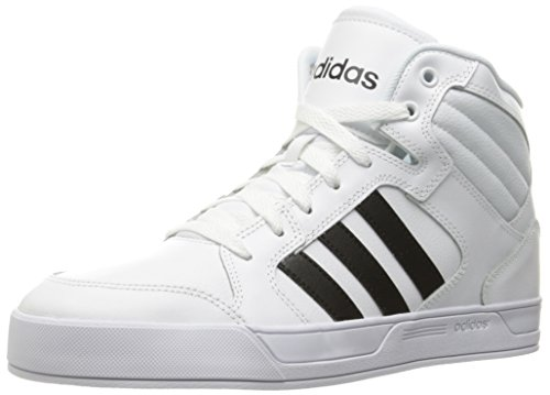 adidas Women's Shoes | Raleigh Mid Fashion Sneakers, White/Black/White, (11 M US) by adidas