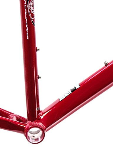 "17"" MARIN LUCAS VALLEY ALP Road Sport Bike Frame Alloy Red Brick 700c E4 NOS NEW"