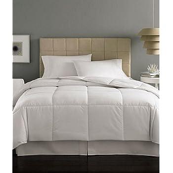 Home Design Mini Stripe Down Alternative Comforter King Home Kitchen
