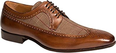 Mezlan Men's Johann,Brown Calf/Printed Suede,US ...