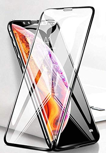 ASD Accessories iPhone X/XS Tempered Glass Screen Protector Compatible, 9D Full Coverage, Anti Scratch and Fingerprint…