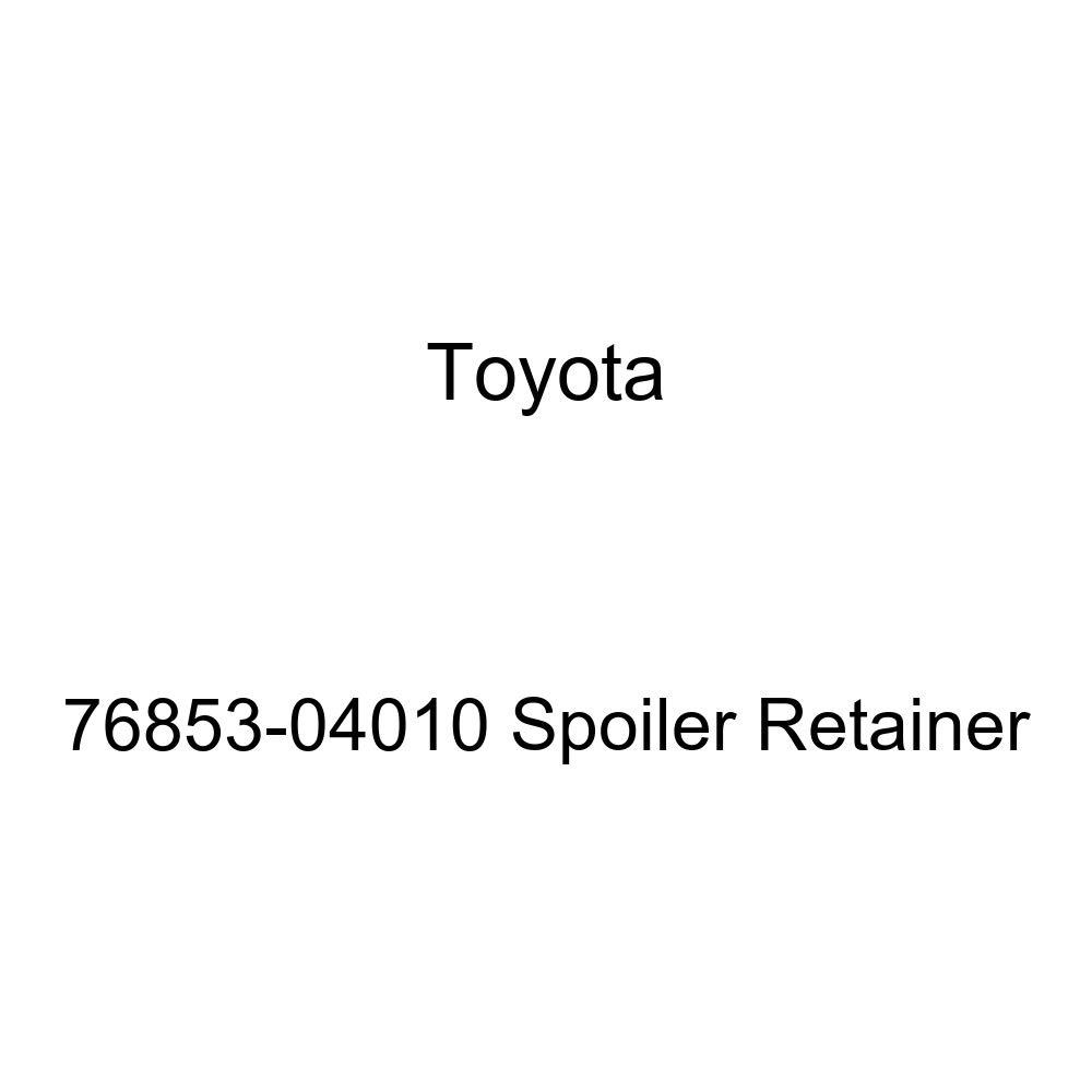 Toyota Genuine 76853-04010 Spoiler Retainer