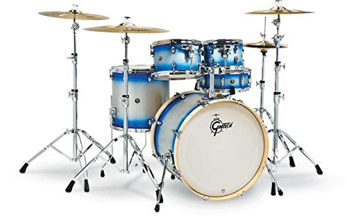 Gretsch Drums Catalina Birch Special Edition 5-piece Shell Pack - Blue Silver Duco - 22