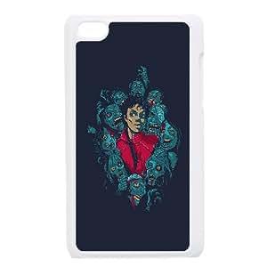 Michael Jackson Thriller Illustration iPod Touch 4 Case White DIY present pjz003_6369755