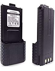 BaoFeng, BTECH BL-5L 3800mAh Li-ion Battery Pack, High Capacity Extended Battery for UV-5X3, BF-F8HP, and UV-5R Radios (BL-5 BaoFeng Battery Series)