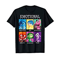 Disney Pixar Inside Out Emotions Yearbook Group T-Shirt