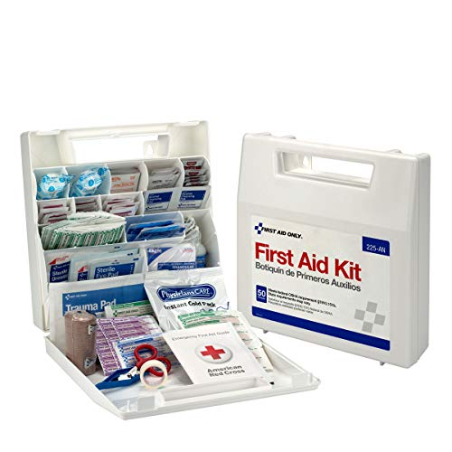 First Aid Only 50 Person OSHA First Aid Kit, Plastic Case with ()
