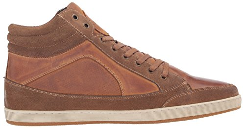 Steve Madden Mens Baskets Mode Peyson Noir Tan
