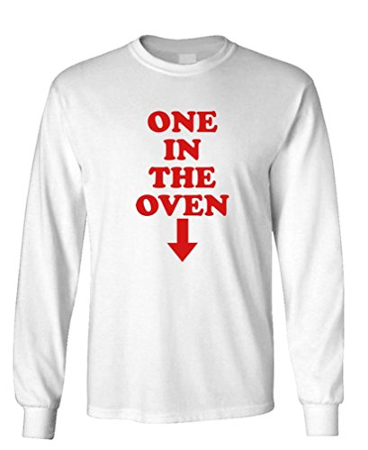ONE IN THE OVEN - police movie comedy film - Long Sleeved Tee, S, White (Oven In 1 The)
