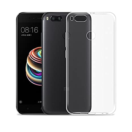Slim Funda Xiaomi Mi 5X/Mi A1 Carcasa Slim Transparente Ultrafina 0.3 Silicona TPU Gel Ultra Delgada Xiaomi Mi 5X/Mi A1 (Transparente)