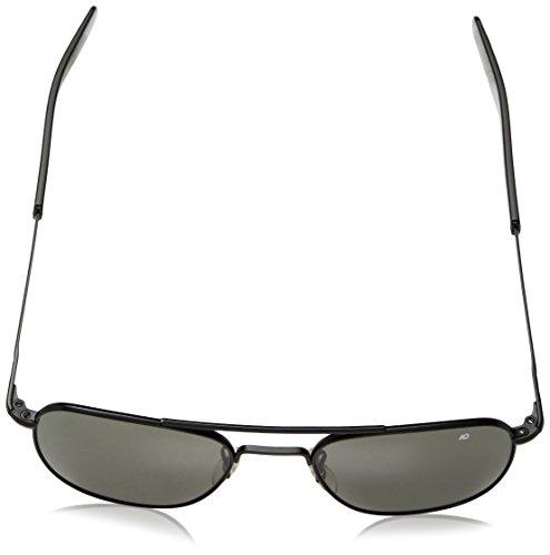 bd95027dbff1c AO Eyewear Original Pilot Sunglasses 55mm Gray Non-Polarized Polycarbonate  Lenses