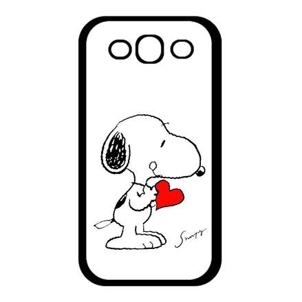 New The Charlie Brown And Snoopy Hard Skin Case Cover Shell for Samsung Galaxy S3 I9300, Customised Samsung Galaxy S3 Protective Phone Cases For Boys (Samsung Galaxy S3 Cases Snoopy)