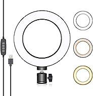 Neewer Anel de Luz USB de 6 polegadas, iluminação de vídeo conferência para reunião de chamada Zoom, transmiss