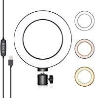 Neewer 6-inch USB Ring Light, Video Conference Lighting for Zoom Call Meeting/Self Broadcasting/Remote...
