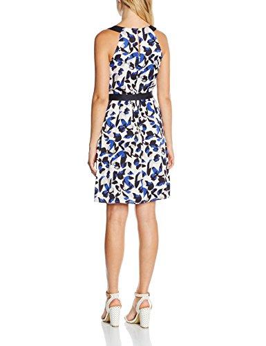 55a8 Mehrfarbig Kleid Damen Aop comma Blue CnwZYxAXOq