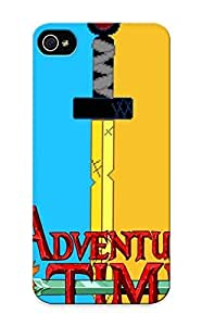 Hot New Adventure Time Case Cover For Iphone 4/4s With Perfect Diushoujuan Design