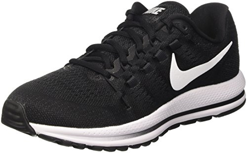 NIKE Men's Air Zoom Vomero 12 Running Shoe Black/White/Anthracite Size 9.5 M US ()