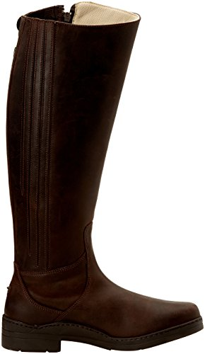 New Norfolk Stivali di pelle, da equitazione, misura gamba standard Marrone - marrone