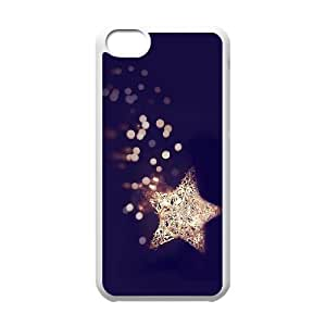 ALICASE Diy Hard Shell Case Star For Iphone 5C [Pattern-5]