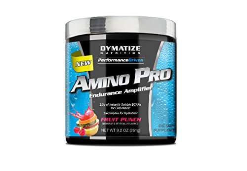 Dymatize Nutrition - Performance Driven Amino Pro Endurance Amplificateur Fruit Punch - 9,2 oz