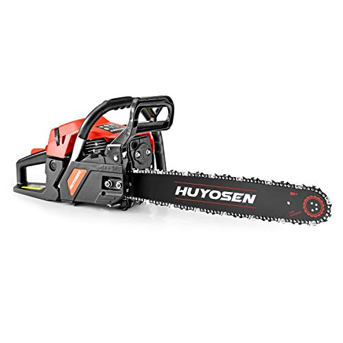 HUYOSEN Gas Power Chain Saws Corded 46 CC 2 Cycle