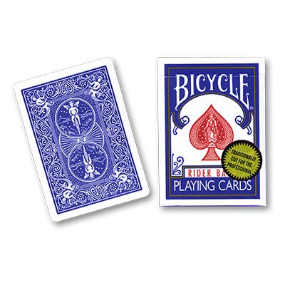 Walton Magic Bicycle Playing Cards (Gold Standard) - Blue Back by Richard  Turner - Trick