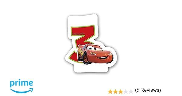 Unique Party Neón Disney Cars, Tercera Vela de Cumpleaños