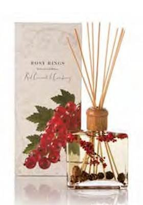 RED CURRANT38; CRANBERRY Rosy Rings Botanical Reed Diffuser