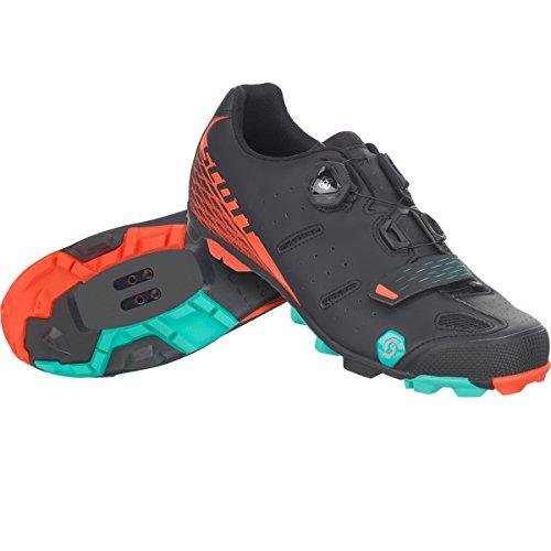 Scott MTB Elite Boa Damen Fahrrad Schuhe schwarz/orange 2017: Größe: 40
