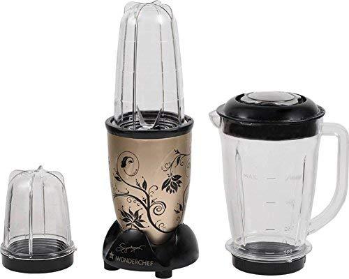 Wonderchef Nutri Blend Juicer Mixer Grinder, 400W